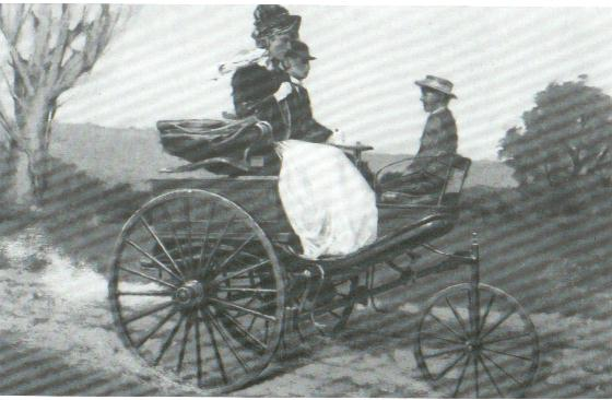 Widely considered the first automobile, the Karl Benz Patent Motorwagen was